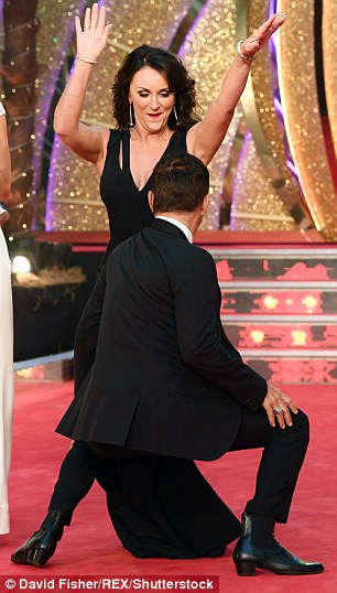 Work it! The Italian choreographer showed off his flexibility during the showstopping dance display