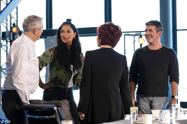 Explaining the shake-up of the show - which also has Sharon Osbourne, Louis Walsh and Nicole Scherzinger as confirmed judges, Simon admitted: 'You try and make changes for the better, not everything works but some ideas we've got for the live shows are going to be good'