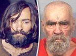 Cult leader Charles Manson pictured in 2017