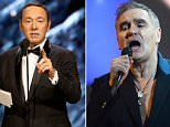 Morrissey, 58 has said it was 'ridiculous' that Kevin Spacey has been replaced in a film for which his scenes had already been shot over sexual assault allegations against him