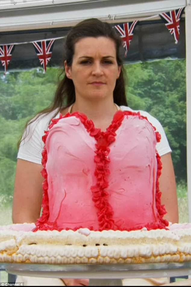 Tough-talking! Sophie Faldo, a 33-year-old stuntwoman and former army officerwas crowned star baker after winning the technical challenge. She left the judges 'highly impressed' with her ballet tutu showstopper (pictured)
