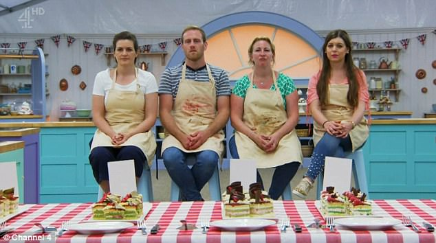 Whipping them into a frenzy! The nail-biting ninth episode saw the remaining four contestants battle it out to create tasty patisserie-themed delights