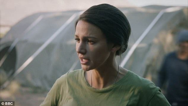 She's back:Michelle's return to Our Girl comes after she admitted to having no choice but to star in season three as she had signed a contract before any confirmation of another installment