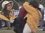 Malia Obama was caught kissing a mystery man at the Harvard-Yale game on Saturday