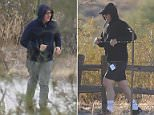 Kevin Spacey was seen jogging on Friday at a trail at The Meadows sex rehab center in Arizona over the weekend (pictured)