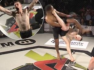 MMA fighterOllie Flint is internet hit with stunning KO