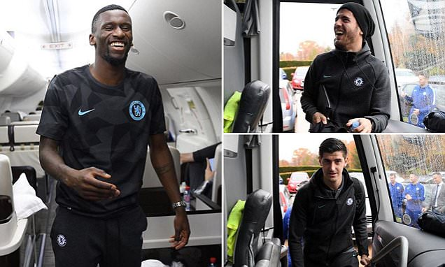 Chelsea embark on 2,456-mile trip for Champions League tie