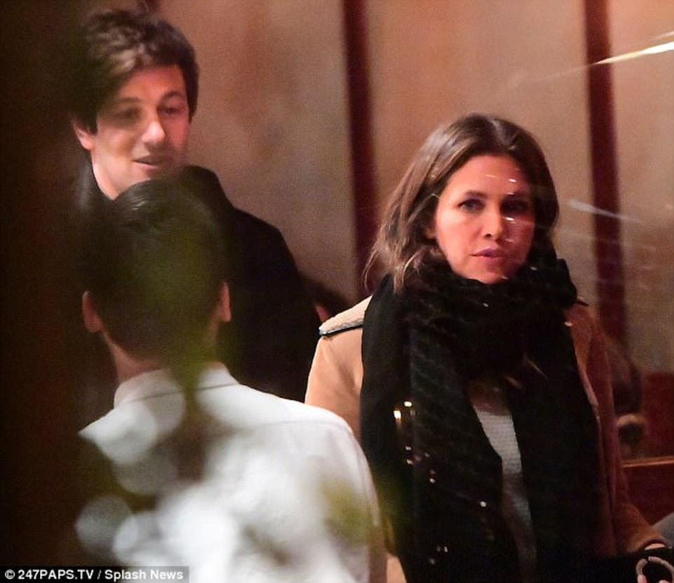 Meeting friends: Just a few months ago, the Dasha was spotted on a quiet dinner with boyfriend of supermodel Karlie Kloss, Joshua Kushner