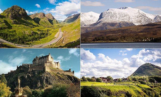 Exploring remains of Britain's supervolcano in Scotland