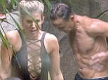 STRICT EMBARGO - NOT TO BE USED BEFORE 22:30 GMT, 20 Nov 2017 - EDITORIAL USE ONLY - NO MERCHANDISING Mandatory Credit: Photo by ITV/REX/Shutterstock (9231389i) Shower - Dennis Wise 'I'm a Celebrity... Get Me Out of Here!' TV Show, Series 17, Australia - 20 Nov 2017