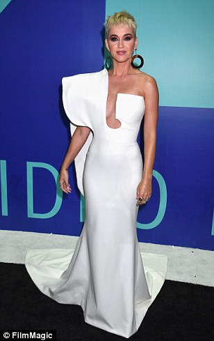 Host with the most outfits! Katy Perry had TEN outfit changest hroughout her hosting gig at the MTV Music Awards in Inglewood, California on Sunday night