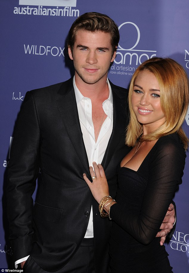 Their romance: Miley and Liam started dating in 2009 after meeting on the set of the film The Last Song, got engaged in 2012, but split a year later