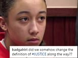 Cyntoia Brown (pictured in court) was just 16 when she was sex trafficked by a pimp named Kutthroat who was physically, sexually and verbally abusive
