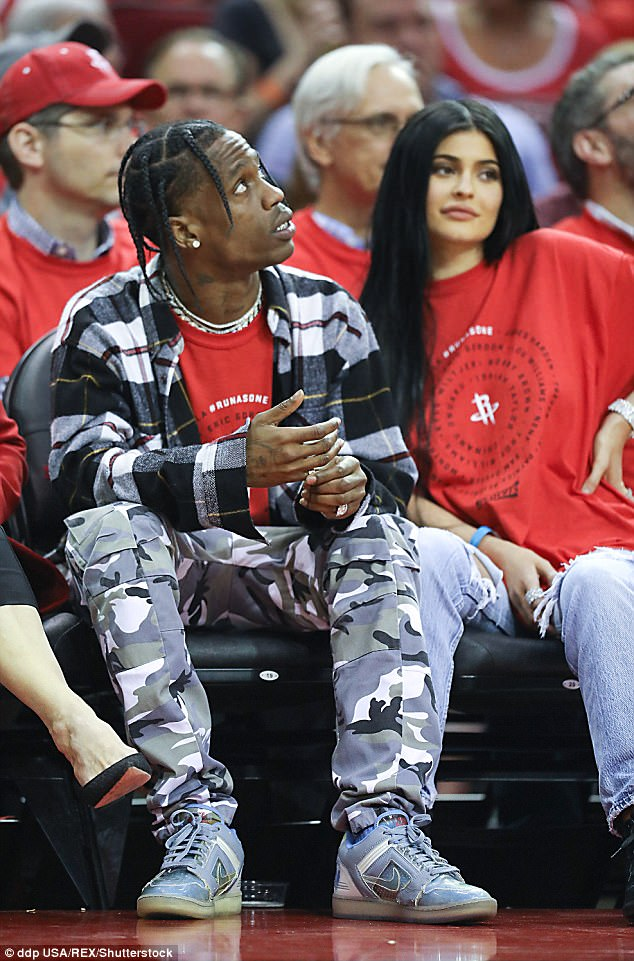 Seen this April: The insider's said of the 20-year-old, whose baby-daddy is purportedly her boyfriend Travis Scott: 'Kylie is very naive'