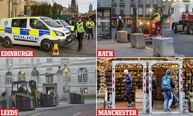 Britain's Christmas markets surrounded by ring of steel
