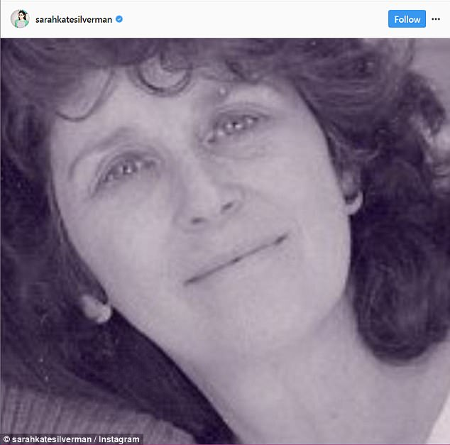 Fierce: Sarah praised her late mother's fearless and independent spirit throughout her life, in a touching post over the weekend