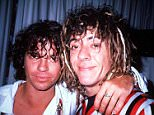 Michael Hutchence's brother (pictured together) has marked the twentieth anniversary of the rockstar's death with a social media post in which he claims Hutchence's 'biggest secret is yet to be revealed'