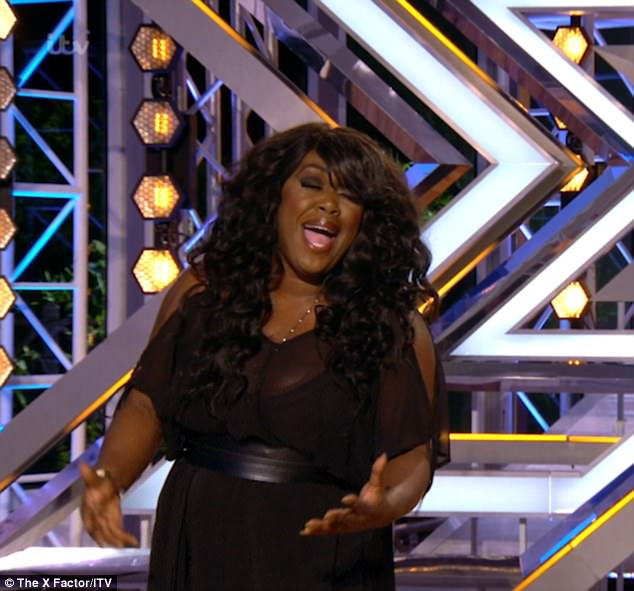 Final show: It was the final night of X Factor auditions on Sunday night, and the show closed with a bang with an incredible performance from 45-year-old diva Berget Lewis