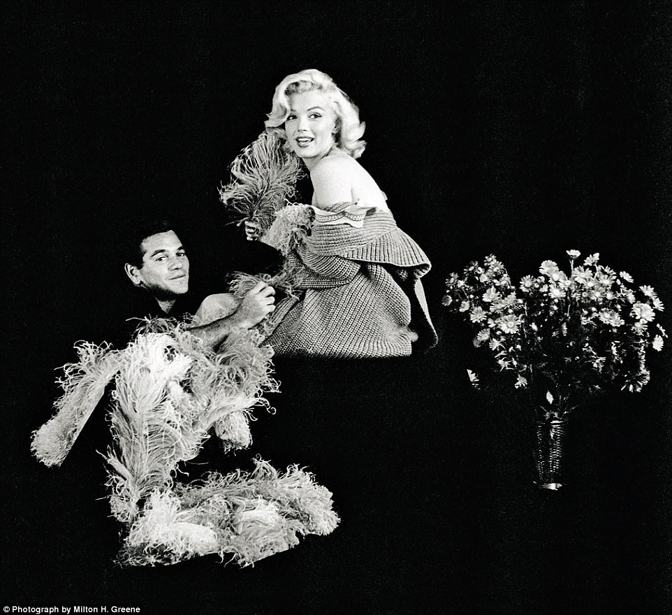 Marilyn¿s magic man:Marilyn with Milton Greene in 1953. Greene had been brought to Los Angeles to meet her at the request of the editor of Look magazine
