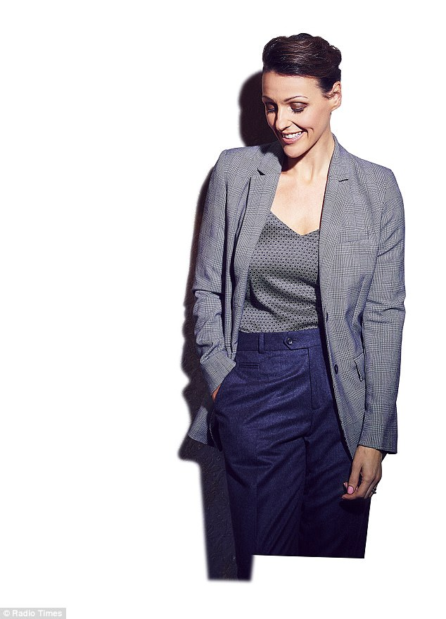 Leading lady: Suranne has gone on to find huge success since the soap -  fronting the hugely popular Doctor Foster in 2015, which will soon return for a second season