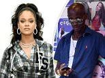 Rihanna in her Fenty line