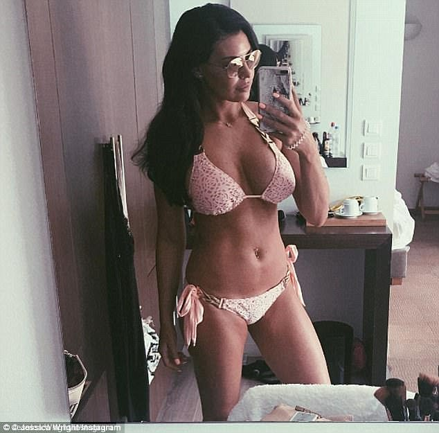 Impressive: Speaking to MailOnline recently Jessica discussed how she is finally happy in her own skin after sticking to a seven-week fitness regime