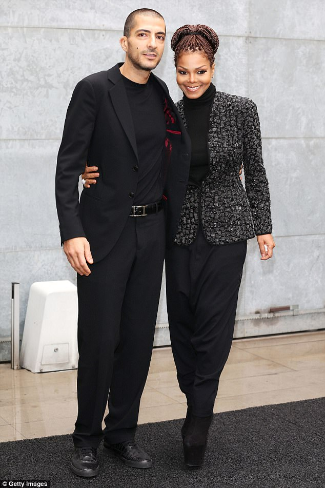 Split: Jackson confirmed in May that she and billionaire husband Wissam Al Mana (pictured in 2013) had separated after five years of marriage