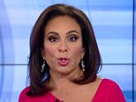 Not into it:Jeanine Pirro could be seen telling someone on set 'you know, you're really pissing me off' on Friday (Pirro above)