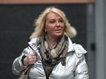 Loretta Acton, pictured leaving Manchester Magistrates' Court, were she pleaded guilty to two counts of harassment and one of criminal damage