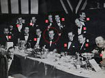 Philip Mountbatten, then 26, gathered with his eclectic group of friends for his stag night