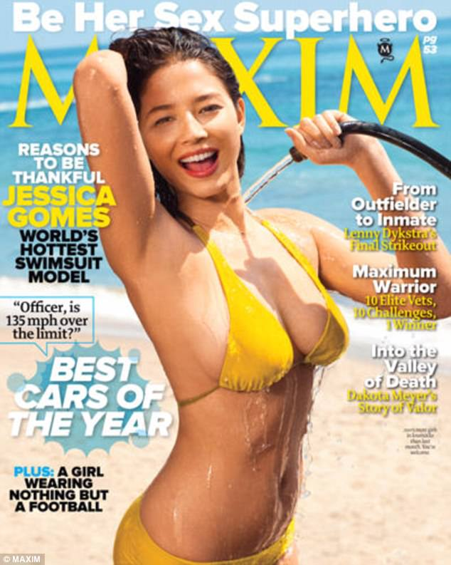 Daring debut!In 2011, the stunner made her debut in an extremely suggestive shoot that saw her getting wet and wild at the beach