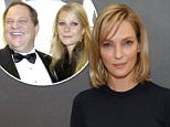 Got your back:Uma Thurman is being flooded with supportive posts
