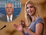 Secretary of State Rex Tillerson will not be sending senior State Department officials along with Ivana Trump for the Global Entrepreneurship Summit