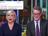 Mika Brzezinski  welcomed viewers to Morning Joe on Friday by declaring 'the day after Thanksgiving, I'm stuffed!'. It has since emerged the show was taped on Wednesday and viewers are not happy