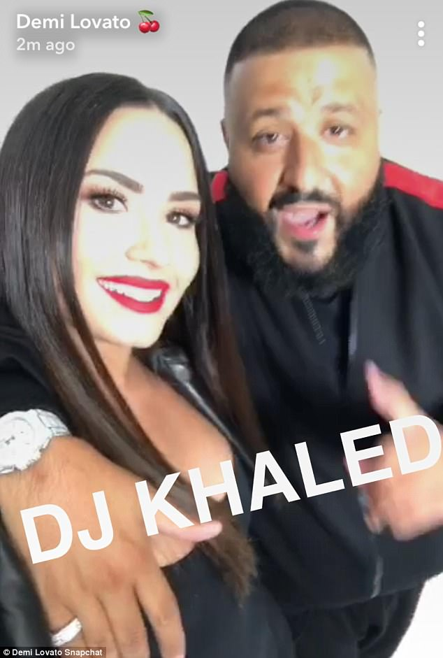 Cool kids! Later on, the Cool For The Summer singer joined forces with DJ Khalid on Snapchat