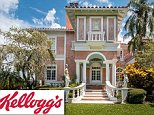 WK Kellog built an estate in Tampa, Florida during the Roaring Twenties to be his winter home