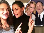 Rose McGowan posted a selfie to Instagram with Asia Argento and Annabella Scorria late Friday evening with the hashtag #RoseArmy just a day after Uma Thurman broke her silence and came out against accused sexual abuser Harvey Weinstein