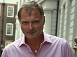 John Leslie has denied putting his hand up a party-goer's fancy dress tutu at a nightclub