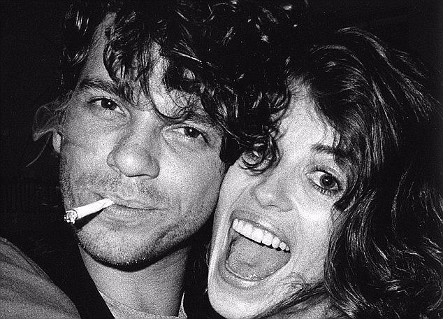Former flame: Michelle Bennett was Michael Hutchence's first love and, in some ways, his last. Michael had called her from his hotel room shortly before his death