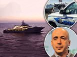 The enormous $195Million yacht with its owner Yuri Milner were not welcomed into the harbor