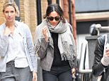 Meghan Markle was assigned royal protection officers when she was Christmas shopping in the capital on Tuesday