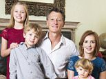 Benedict Allen, with his wife Lenka, and children, Natalya, 10, Freddie, eight and Beatrice, two