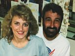 TV legend Don Burke has been accused of sexually harassing numerous female colleagues, as well as groping a woman and a teenage girl. He is pictured with accuser Louise Langdon