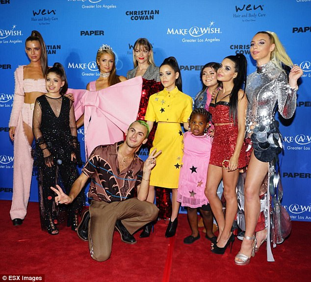 Good cause: 'I have been supporting Make A Wish Foundation for a very long time,' the 36-year-old told DailyMail.com exclusively from the event. 'I love the work they do bringing so much happiness to children and their families in times of need