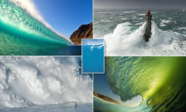 MailOnline Travel presents a gallery of wave scenes