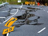 New Zealand could be hit by devastating earthquakes and tsunamis after a long-dormant fault awoke following the devastating Kaik¿ura earthquake in 2016 (pictured)