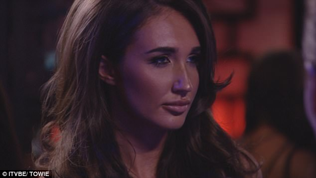 Unfair portrayal: Tommy was not happy that Georgia had received a backlash following an incident involving Megan McKenna (pictured)