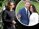 Low-key living: Meghan Markle's mom Doria Ragland spent the weekend preparing for her daughter's announcement in a decidedly low-key fashion outside her Los Angeles home