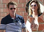 Billy's back:Billy Bush and his estranged wife Sydney were both spotted wearing their wedding rings as they left Zoe Church on Sunday in LA (Bush above)
