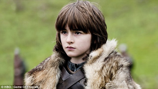 Humble beginnings: The sudden appearance of the TV star - who has starred in the series since the age of 12 - sent many fans to Twitter in their droves